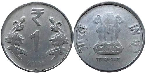 1 рупия 2011 Индия — Ноида