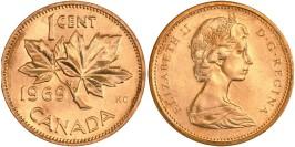 1 цент 1969 Канада