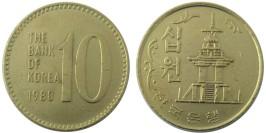 10 вон 1980 Южная Корея