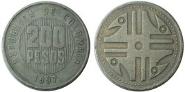 200 песо 1997 Колумбия