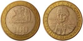 100 песо 2010 Чили