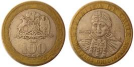100 песо 2001 Чили