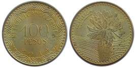 100 песо 2012 Колумбия
