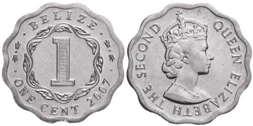 1 цент 2007 Белиз
