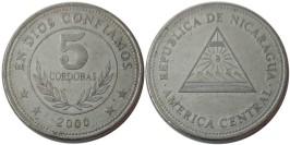 5 кордоб 2000 Никарагуа