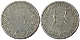 25 центов 1976 Суринам