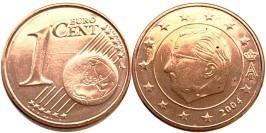 1 евроцент 2004 Бельгия UNC