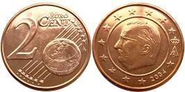 2 евроцента 2004 Бельгия UNC