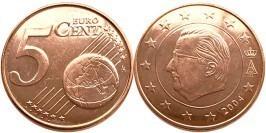 5 евроцентов 2004 Бельгия UNC