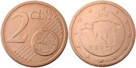 2 евроцента 2018 Эстония UNC
