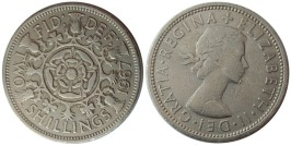 2 шиллинга 1967 Великобритания