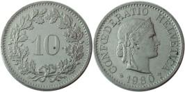 10 раппен 1980 Швейцария