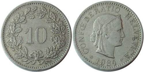 10 раппен 1984 Швейцария