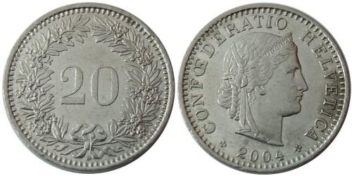 20 раппен 2004 Швейцария