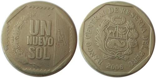 1 новый соль 2006 Перу