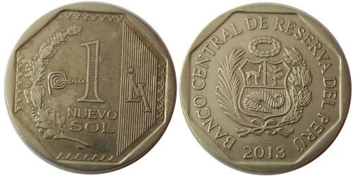 1 новый соль 2013 Перу