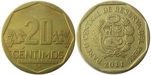 20 сентимо 2011 Перу