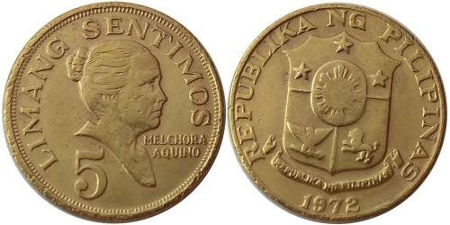5 сентимо 1972 Филиппины