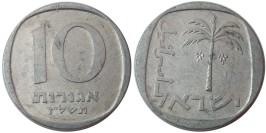 10 агорот 1977 Израиль — алюминий