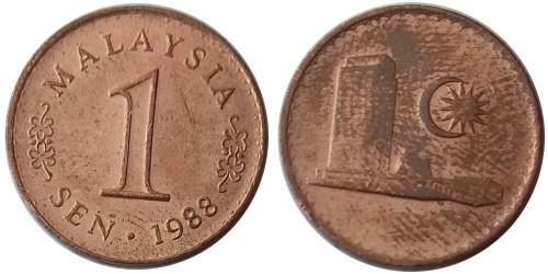 1 сен 1988 Малайзия