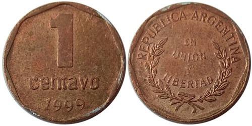 1 сентаво 1999 Аргентина