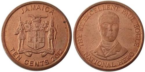 10 центов 2012 Ямайка