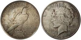 1 доллар 1926 S США — Peace Dollar — серебро №1
