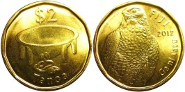 2 доллара 2012 Фиджи UNC