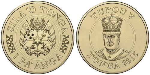 1 паанга 2015 Тонга UNC
