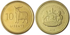 10 лисенте 2018 Лесото UNC