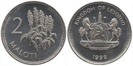 2 малоти 1998 Лесото UNC