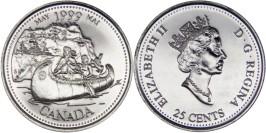 25 центов 1999 Канада — Миллениум — Май 1999, Путешественники