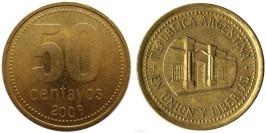 50 сентаво 2009 Аргентина UNC