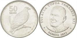 50 сене 2011 Самоа — Зубчатоклювый голубь UNC