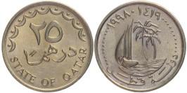 25 дирхамов 1998 Катар UNC