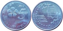 5 сен 2012 Малайзия UNC