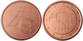 2 евроцента 2017 Эстония UNC