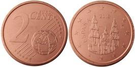 2 евроцента 2019 Испании UNC