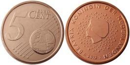 5 евроцентов 2012 Нидерланды UNC