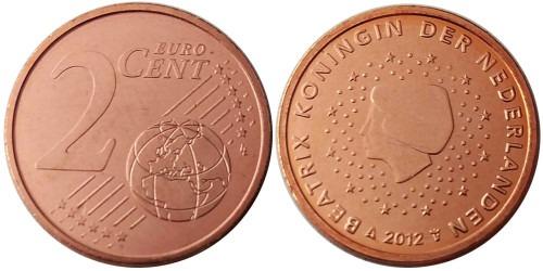 2 евроцента 2012 Нидерланды UNC