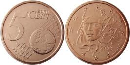 5 евроцентов 2003 Франция UNC
