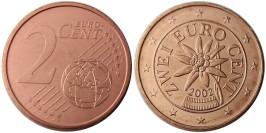 2 евроцента 2002 Австрия UNC