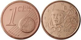 1 евроцент 1999 Франция UNC
