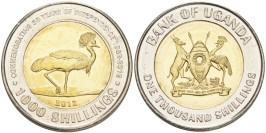 1000 шиллингов 2012 Уганда — 50 лет Независимости UNC