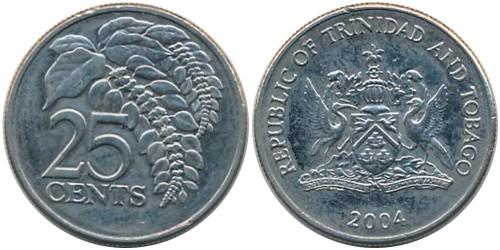 25 центов 2004 Тринидад и Тобаго — Чакония
