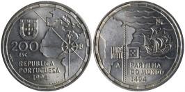 200 эскудо 1994 Португалия — 500 лет с момента разделения зон влияния между Португалией и Испанией