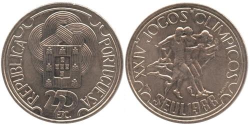 250 эскудо 1988 Португалия — XXIV летние Олимпийские Игры, Сеул 1988