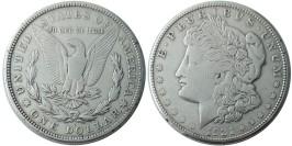1 доллар 1921 S США — Доллар Моргана — серебро