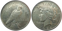 1 доллар 1926 США — Peace Dollar — серебро