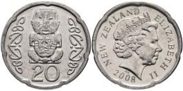 20 центов 2006 Новая Зеландия